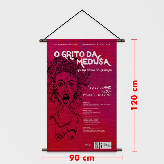 Lona Fosca 90x120 cm