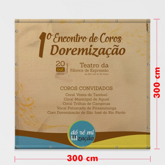 Lona Fosca 300x300 cm