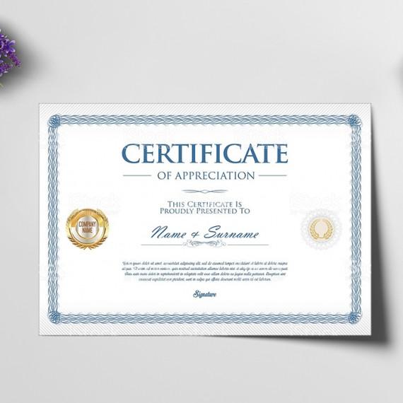 Certificado A4 Apergaminhado 240gr 4x0 cores