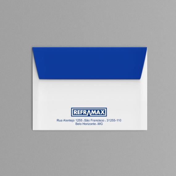 Envelope 11,4x16,2 cm - 1 cor - Apergaminhado 120 gr