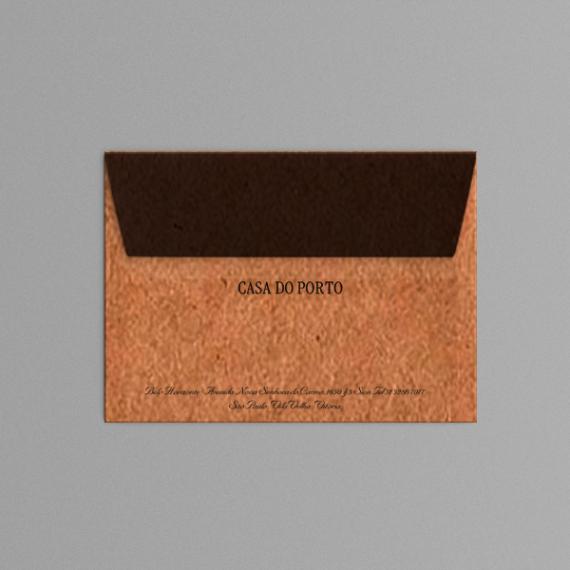 Envelope 11,4x16,2 cm - 1 cor - Kraft 110 gr
