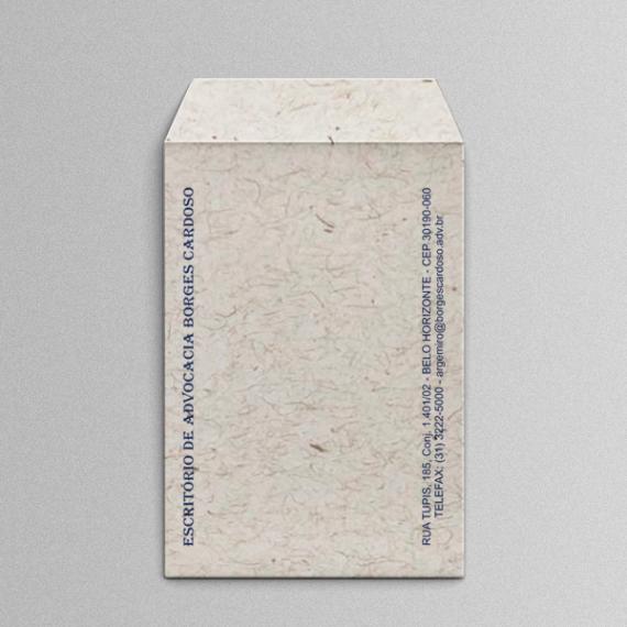 Envelope 18,4x25 cm - 1 cor - Reciclato 120 gr