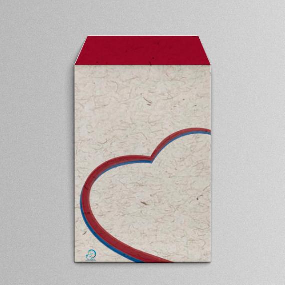 Envelope 18,4x25 cm - Colorido - Reciclato 120 gr