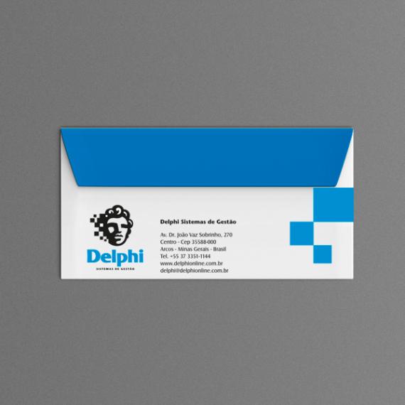 Envelope 11,4x22,9 cm - 2 cores - Apergaminhado 120 gr