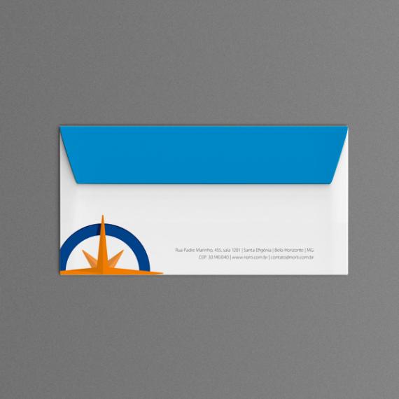 Envelope 11,4x22,9 cm - Colorido - Apergaminhado 120 gr