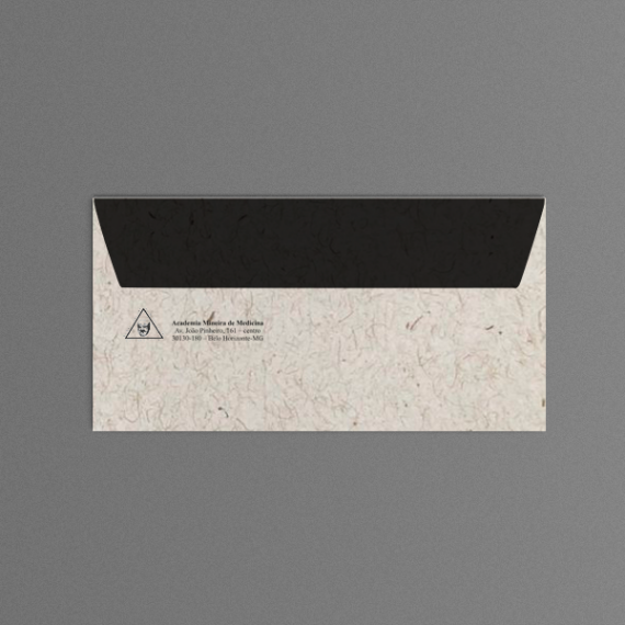 Envelope 11,4x22,9 cm - 1 cor - Reciclato 120 gr