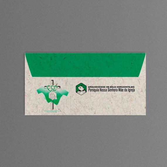 Envelope 11,4x22,9 cm - 2 cores - Reciclato 120 gr