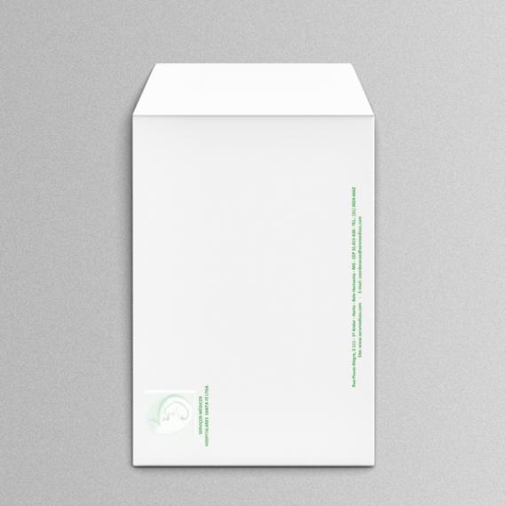 Envelope 25x35 cm - 1 Cor - Apergaminhado 120 gr