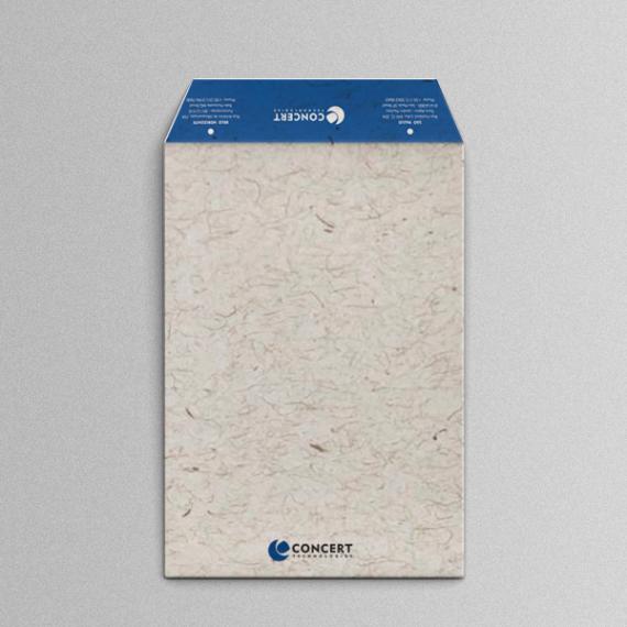 Envelope 25x35 cm - 2 cores - Reciclato 120 gr