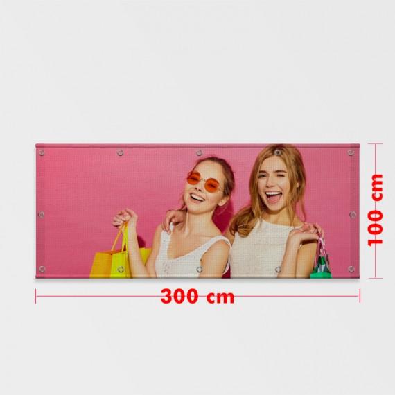 Lona Brilho 100x300 cm