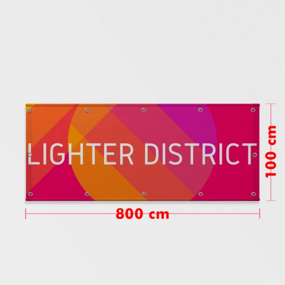 Lona Brilho 100x800 cm