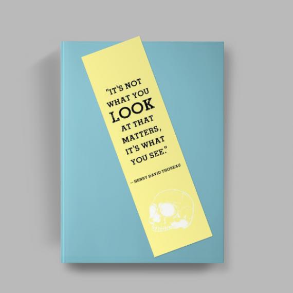 Marcador de Página - Colorido Frente e Verso - Laminação Brilho